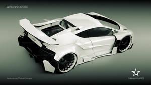 Lamborghini Sinistro on Turbine rims new design by mcmercslr