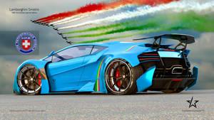 Lamborghini SINISTRO on HRE S101 wheels by mcmercslr
