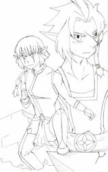 Les Legendaires: You Keep Me Strong by Hi-itsFukuro01