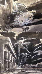 Inktober 2016 #01 Fast CloseUp by PsychedelicMind