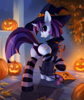 [YCH] Tricks and treats by tomatocoup