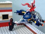 LEGO spiderman vs carnage by Pedropokefan