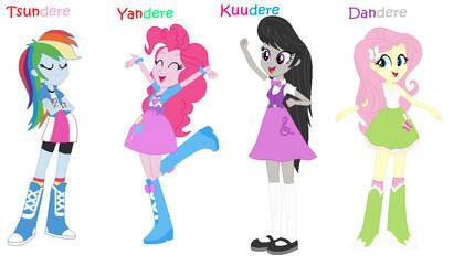 EQGD Anime Stereotypes by LadyLunarScorpio
