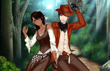 Cadence and Buck by LadyLunarScorpio