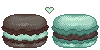 Macaron Pixel by Zilverlovely