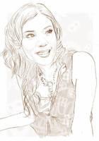 Olga Lydia sketch by dezinfectant