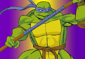 Donatello by CatsEyePic