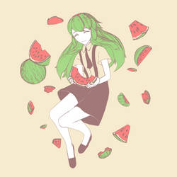 Watermelon by Snorlaxin
