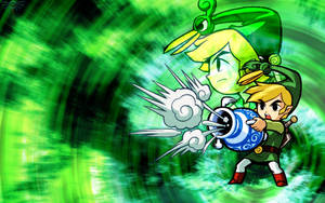 Minish Cap Wallpaper I by Daking9