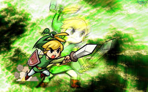 Minish Cap Wallpaper II by Daking9