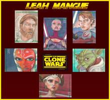 Star Wars: The Clone Wars by OMangueOTangue