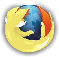 Fennekin Firefox Logo (With Icon) by A-Sleepy-Dragon