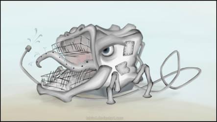 Evil Dishwasher by teblad