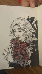 #3 Poison - Inktober 2017 by xilenobody143
