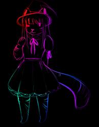 Rainbow Witch by EmiEmuzz