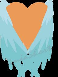 Vulpamor Cutie Mark Commission (WM) by NinjaShorty
