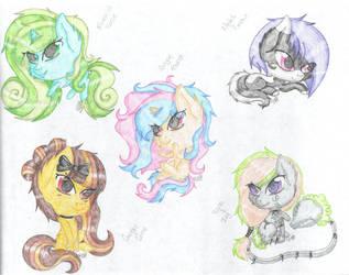 Chibi Group by NinjaShorty