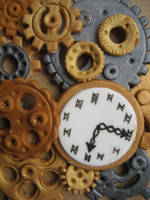 Edible gear wheels by Fledim