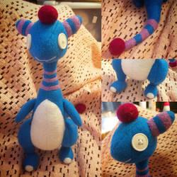 Pokemon - Candy Floss Ampharos Plush by Jack-O-AllTrades