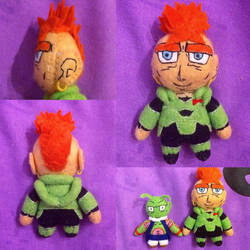 Dragon Ball Z - Android 16 Plush by Jack-O-AllTrades