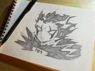 Brago Sketch (Zatch Bell) by la23trenzas
