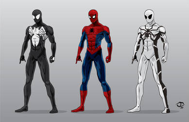 Spidey color test by Tloessy