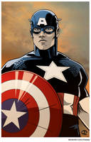 Captain America by Tloessy