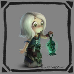 Magic Lamp Quest by NikiVaszi