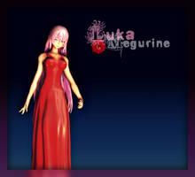 Red Dress Montecore Luka by niro0812