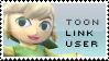 Toon Link Stamp by yukidarkfan