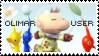 Olimar Stamp by yukidarkfan