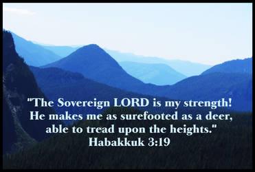 Habakkuk 3:19 by joyrascal
