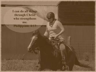 Philippians 4:13 by joyrascal