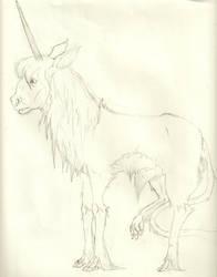 Spiderwick Unicorn by CarpetSlug