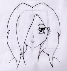 First manga drawing EVER! by CarpetSlug