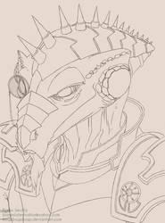 Elder Dragon by BryanSevilla