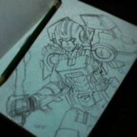 Arcee Sketch by BryanSevilla