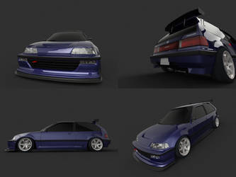 Hellaflush Civic Multi by SamauriPizzaCats