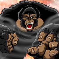 Kong Attacks by kaijuverse
