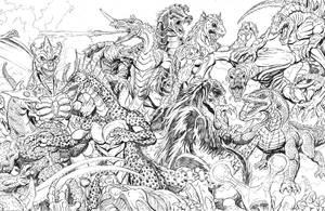 2010 Kaiju Battles pt2 by kaijuverse