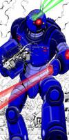 Mechaton Robot by kaijuverse