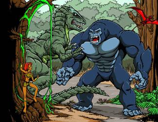 Kong animated series by kaijuverse
