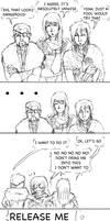 Loki+Odin+Hoenir:unwise by LadyNorthstar