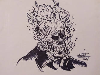 Ghost Rider by AZTECH2009