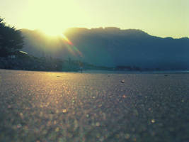 Beached Sunrise by T-a-g-g-e-r