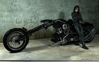 Ghost Rider by ThierryCravatte