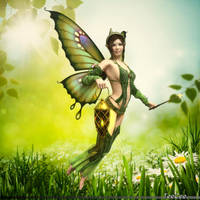 Light fairy by ThierryCravatte