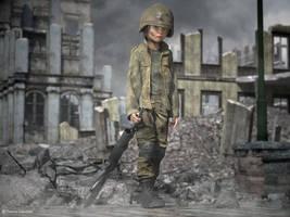 Child Soldier by ThierryCravatte