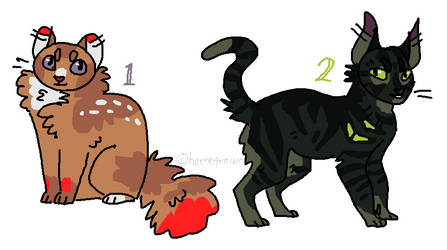 quick cat adopts (CLOSED) by homeqrown