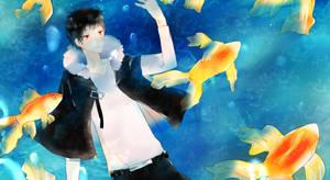 Goldfish by mikadokyun